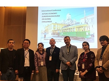 The Lecturers in Economics attended the International Conference Actual Economy